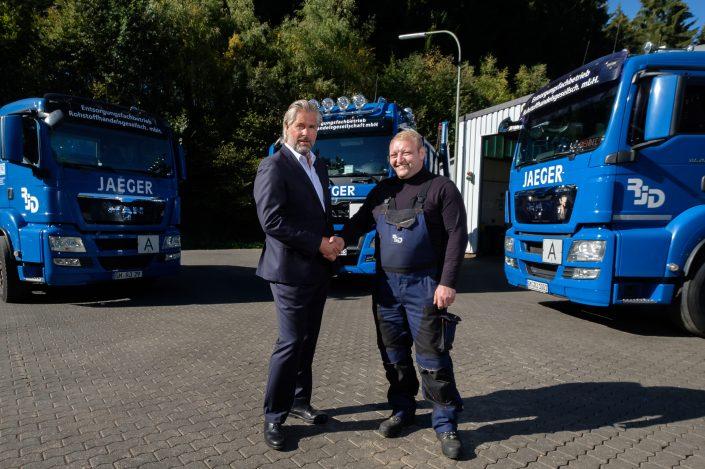 Willkommen im Team unserer Berufskraftfahrer: Waldemar E.