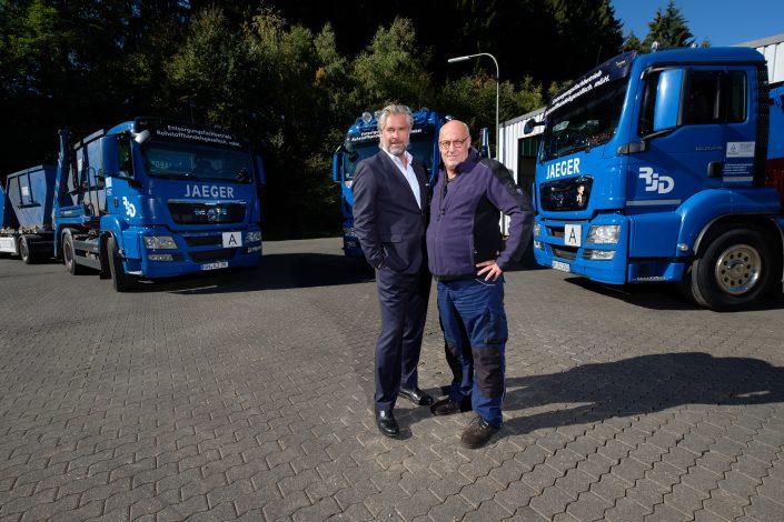 Starkes Team: Magnus und Michael Bürger (Geschäftsführung und Betriebsleitung)